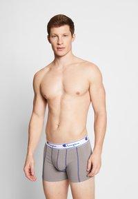 Champion - BOXER 3 PACK - Pants - black/grey/khaki - 3