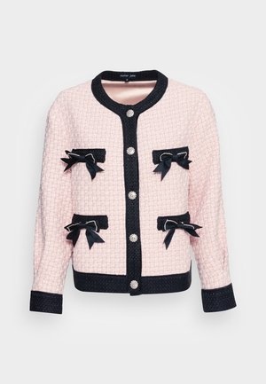 SECRET GARDEN TWEED CARDIGAN - Kardigan - pink