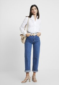 s.Oliver - Button-down blouse - white - 1