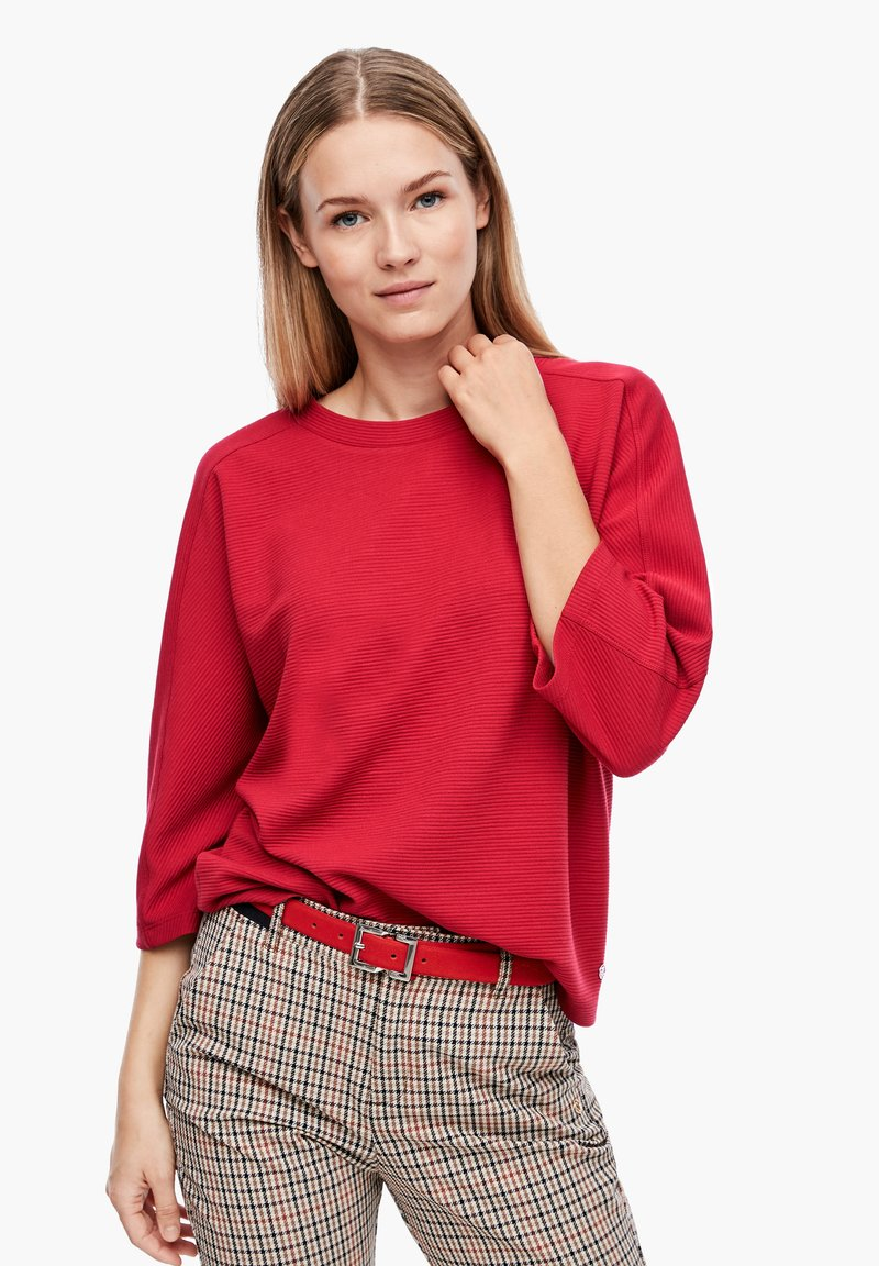 s.Oliver - Sweatshirt - dark red