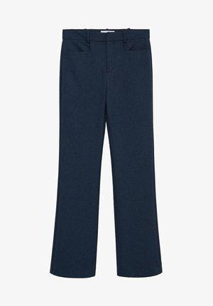 VERA-I - Kalhoty - blau