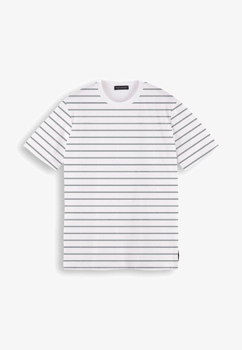 Scotch & Soda - Print T-shirt - beige