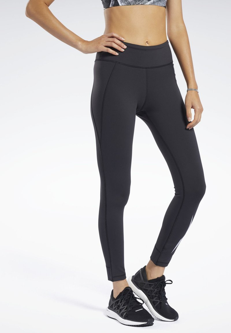 Reebok - Tights - black