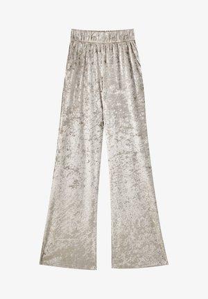 Trousers - light grey