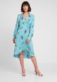 Levete Room - GRITA - Denní šaty - adriatic blue combi - 1