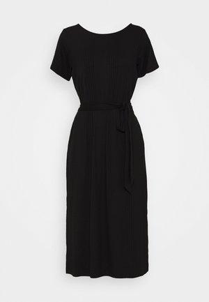 OBJCELIA DRESS - Jerseykjole - black
