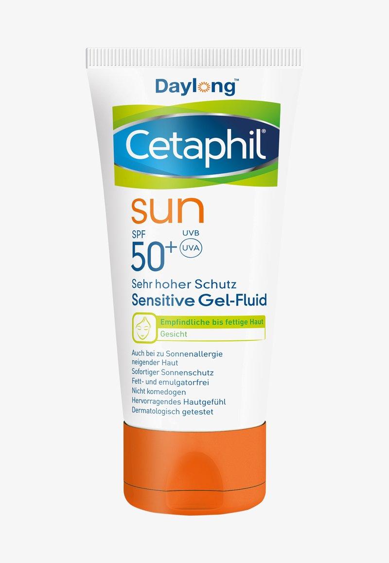 Cetaphil Sun Daylong - SUN DAYLONG SENSITIVE GEL-FLUID GESICHT - Sun protection - -