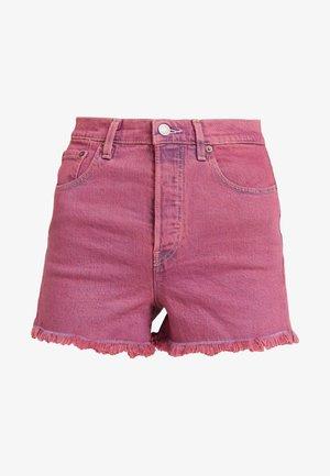RIBCAGE  - Shorts di jeans - pink