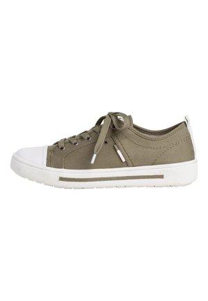 Sneakers laag - pistachio