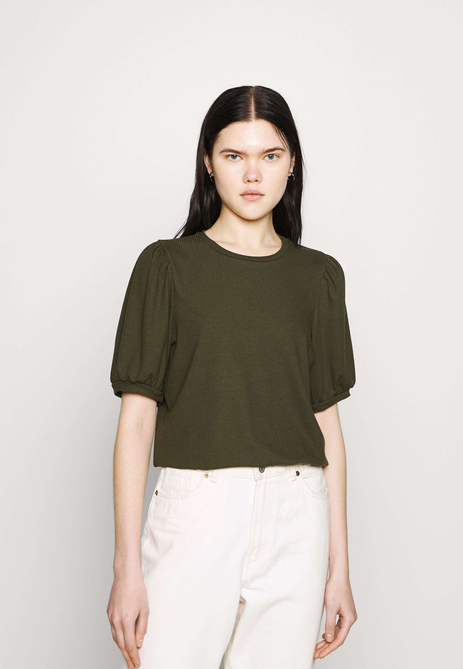 Women OBJJAMIE  - Basic T-shirt