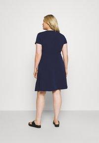 Anna Field Curvy - Shirt dress - dark blue - 2