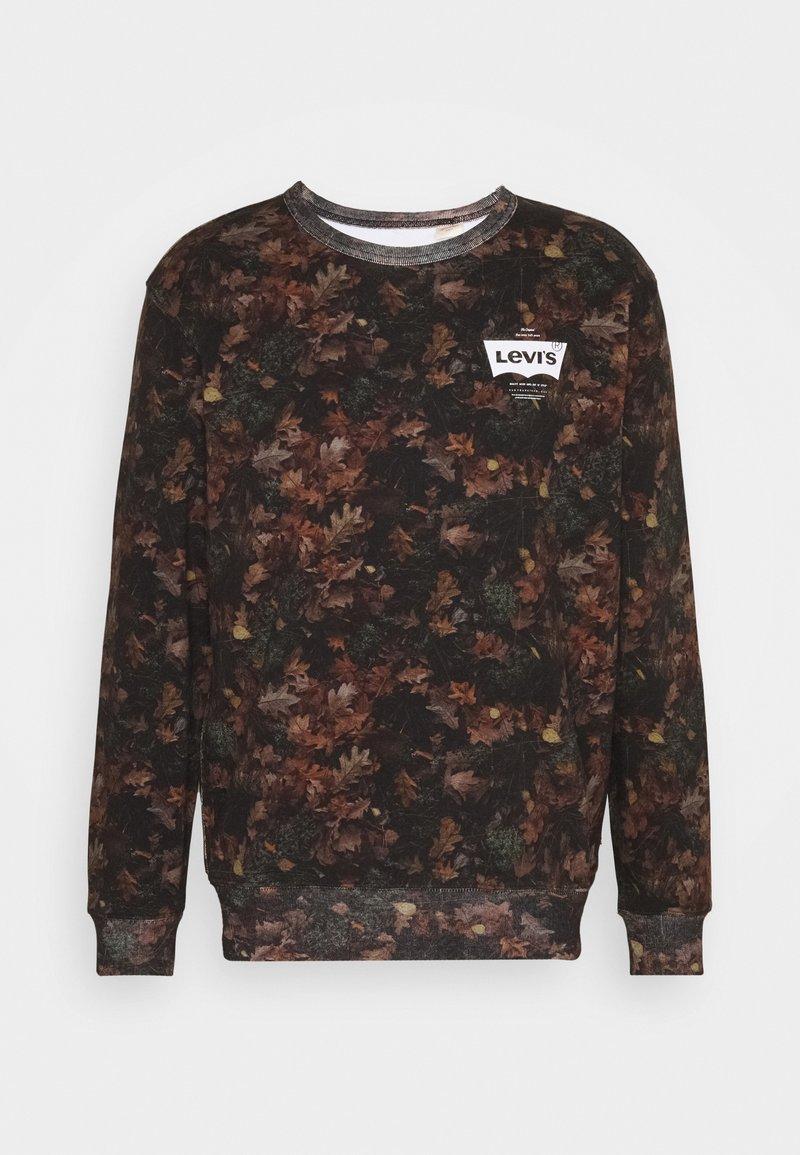 Levi's® GRAPHIC CREW - Sweatshirt - jet black/schwarz Ay1ANf