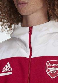 adidas Performance - Z.N.E. ARSENAL FC SPORTS FOOTBALL JACKET - Träningsjacka - actmar/white - 6