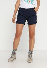 Jack Wolfskin - DESERT SHORTS  - Sports shorts - midnight blue - 0