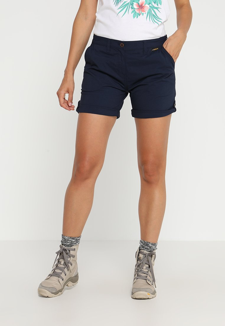 Jack Wolfskin - DESERT SHORTS  - Sports shorts - midnight blue
