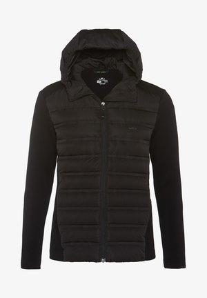 ENNO HYBRID - Down jacket - black