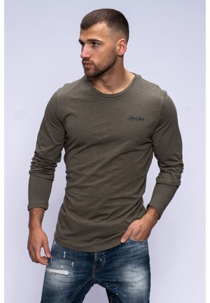 Long sleeved top - dusty olive