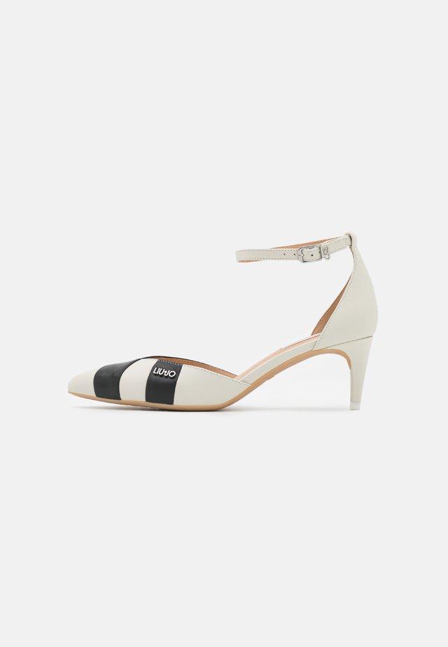 KATIA TWO PIECES - Classic heels - black/white