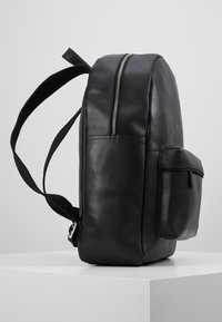 Pier One - UNISEX LEATHER  - Rucksack - black - 3