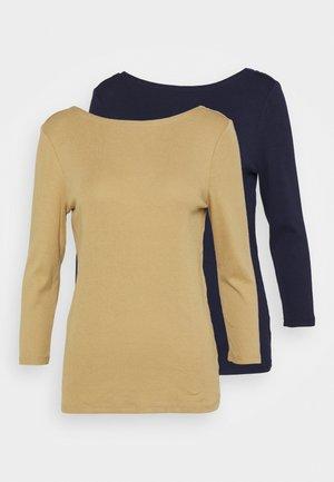 BALLET 2 PACK - Langærmede T-shirts - navy uniform