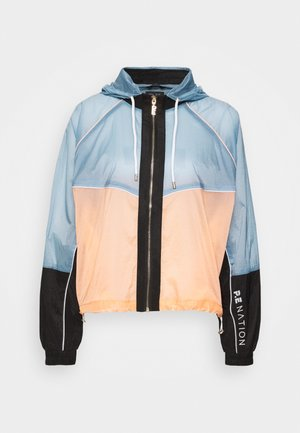 AERIAL DROP JACKET - Treningsjakke - light blue