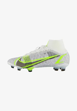 MERCURIAL  ELITE FG - Moulded stud football boots - schwarz/weiss