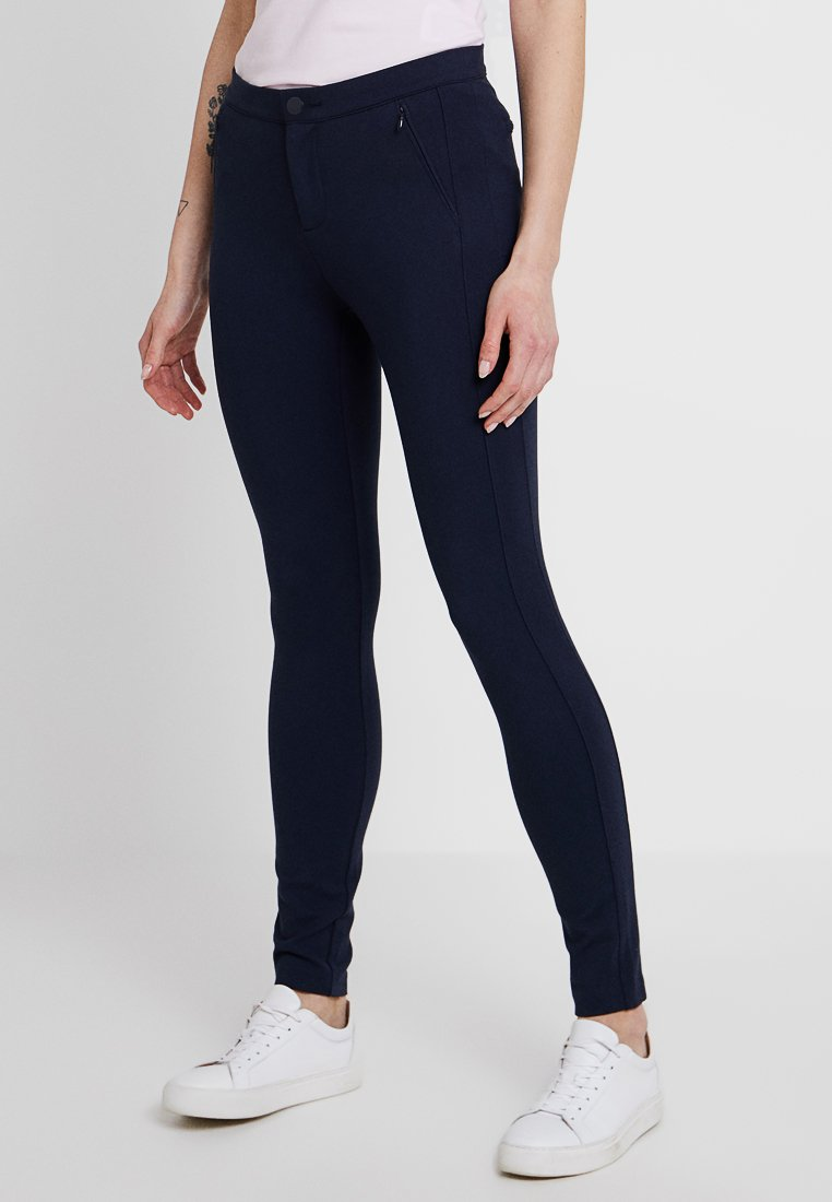 Tommy Hilfiger - HERITAGE FIT PANTS - Trousers - midnight