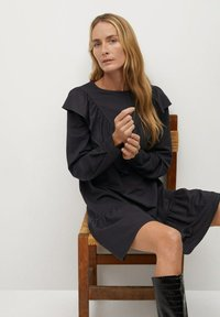 Mango - ADELINA - Korte jurk - antraciet - 5