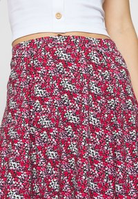 Even&Odd - 2 PACK - A-line skirt - black/red - 5