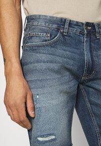 Redefined Rebel - RROSAKA - Denim shorts - blue denim - 4