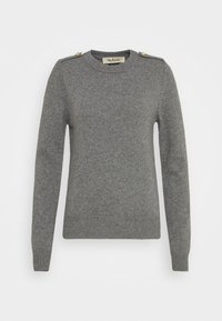 Mulberry - NANCIE CREW NECK JUMPER - Jumper - charcoal