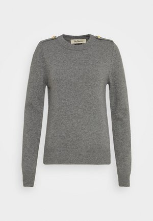 NANCIE CREW NECK JUMPER - Strickpullover - charcoal