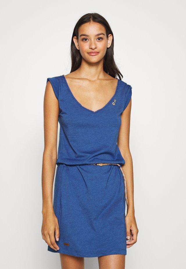 SLAVKA - Sukienka z dżerseju - blue