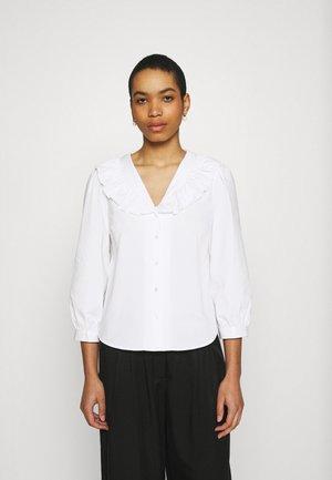 BRISA AVA 3/4 SHIRT - Blouse - bright white