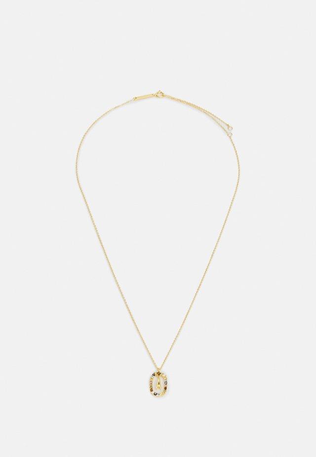 LETTER NECKLACE - Kaulakoru - gold-coloured