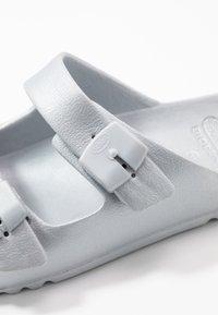 Scholl - BAHIA - Pantofle - argent - 2