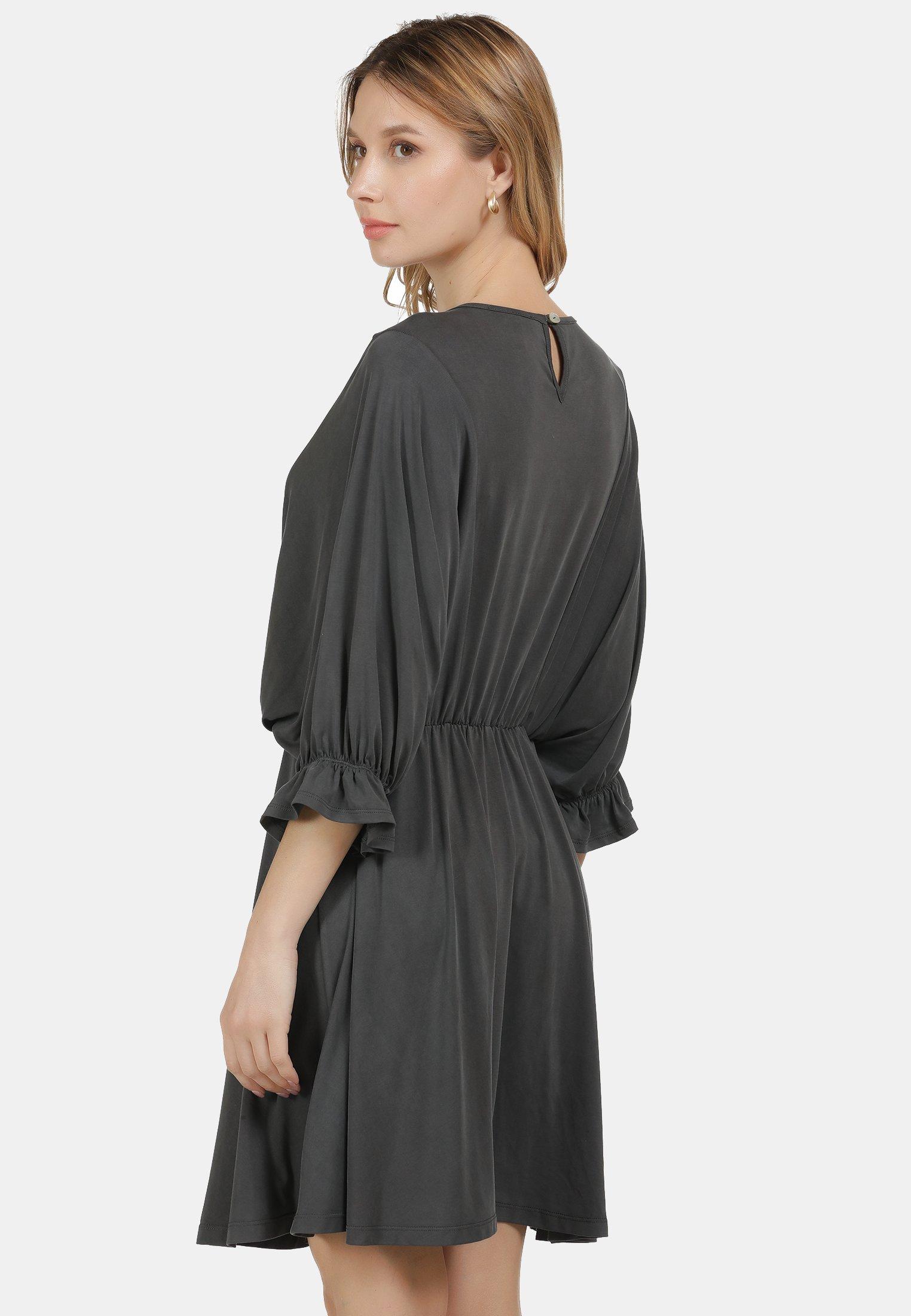 DreiMaster KLEID Jerseykleid dunkelgrau