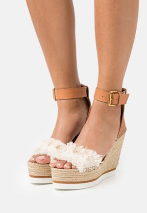 GLYN HIGH - High heeled sandals - natural
