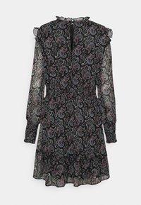 ONLY - ONLASTA SMOCK DRESS - Kjole - black - 1