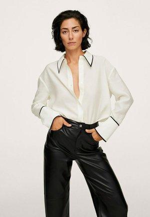 Long sleeved top - blanco roto