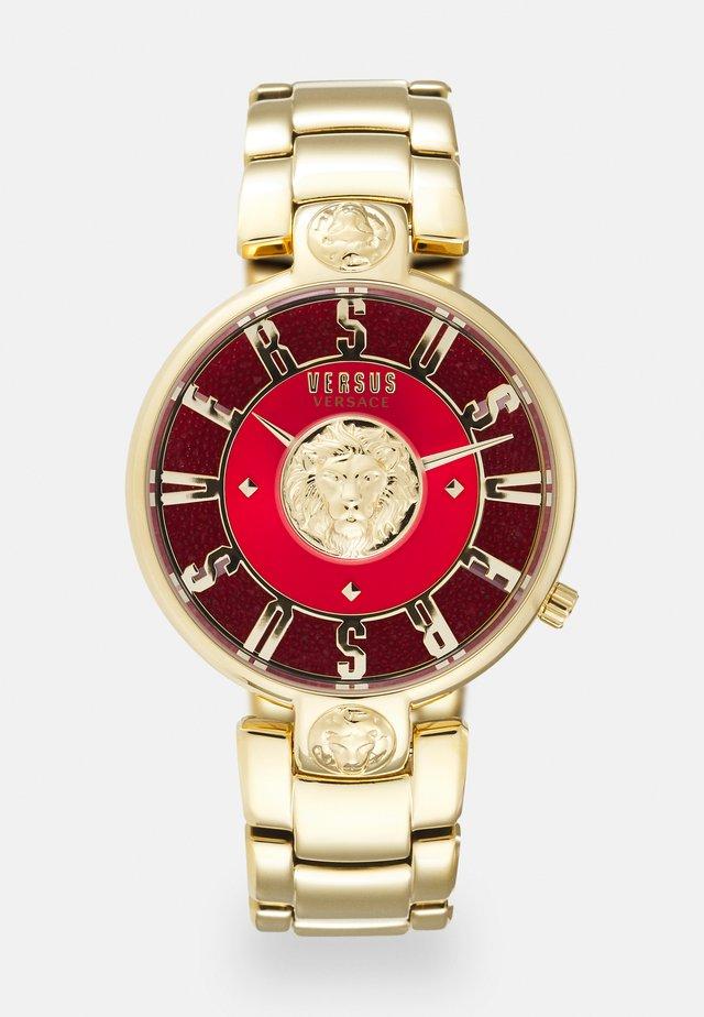VERSUS LODOVICA - Reloj - gold/red
