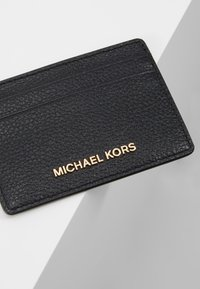 MICHAEL Michael Kors - JET SET CARD HOLDER MERCER - Wallet - black - 2