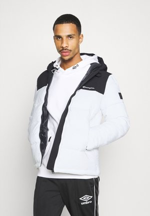 LEGACY HOODED JACKET - Giacca sportiva - white/black
