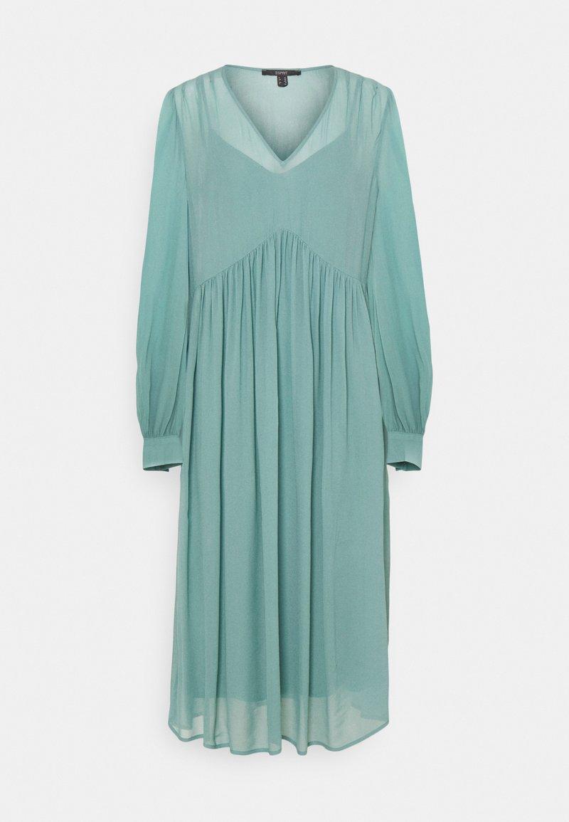 Esprit Collection - DRESS - Sukienka letnia - dark turquoise
