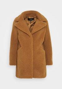 Vero Moda Petite - VMDONNA TEDDY - Zimní bunda - tobacco brown - 4