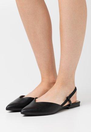 BRISA - Slingback ballet pumps - black