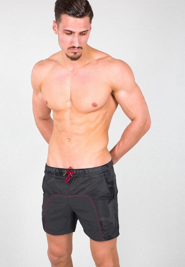 Swimming shorts - black camo