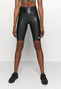 MSGM - SHORTS - Leggings - black - 0