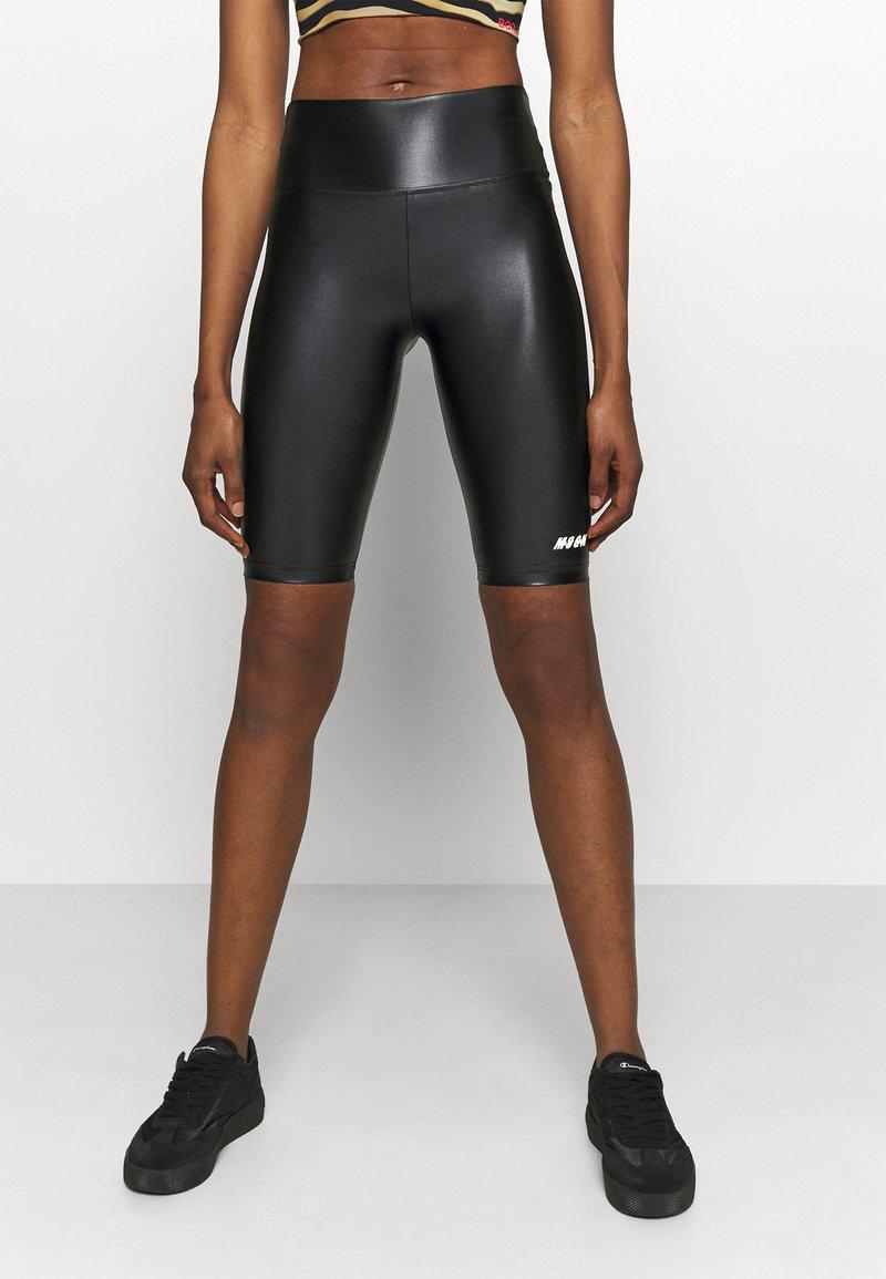 MSGM - SHORTS - Leggings - black