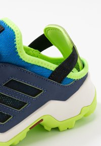 adidas Performance - TERREX HYDROTERRA - Hiking shoes - glow blue/core black/singnal green - 2